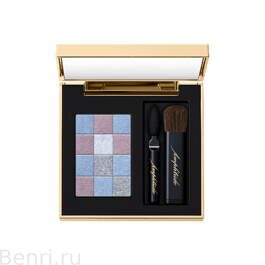 Тени для век, SMOKY CHIC FOR EYES Amplitude,  04 дымчато-синий.
