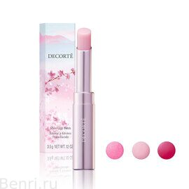 Блеск для губ Sheer Lip Balm 01 sakura dazzle, Decorte.