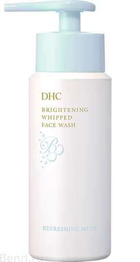 Осветляющая пенка для лица,  DHC Brightening Whipped Face Wash, 120 гр.