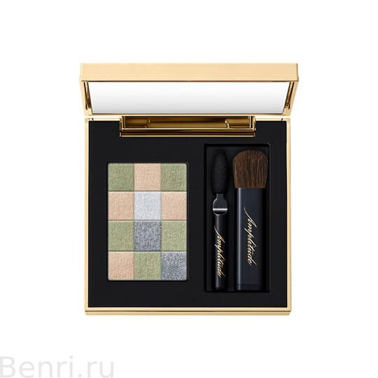 Тени для век, SMOKY CHIC FOR EYES Amplitude,   03 дымчато-зеленый.