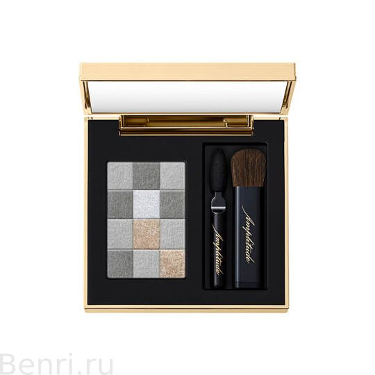 Тени для век, SMOKY CHIC FOR EYES Amplitude,    05 дымчато-серый